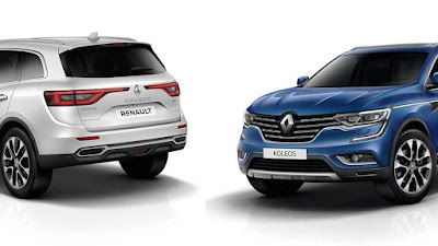New 2017 Renault Koleos Facelift two option color Hd Photos