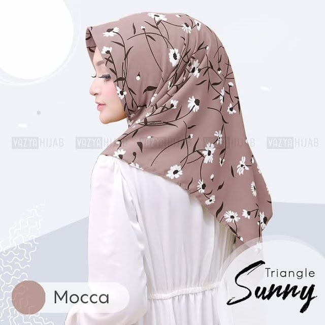 Jilbab Instan Segi Tiga instan Sunny Vayza Murah