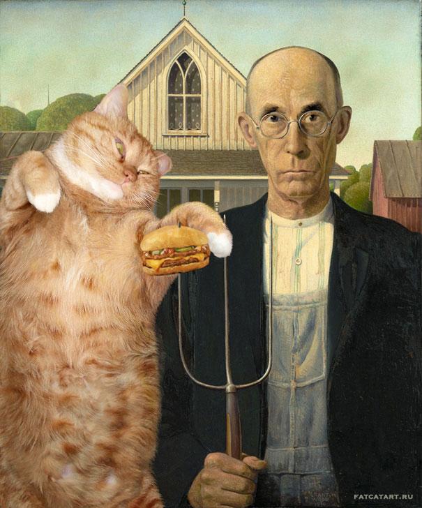Zarathustra From The Fat Cat Art-1