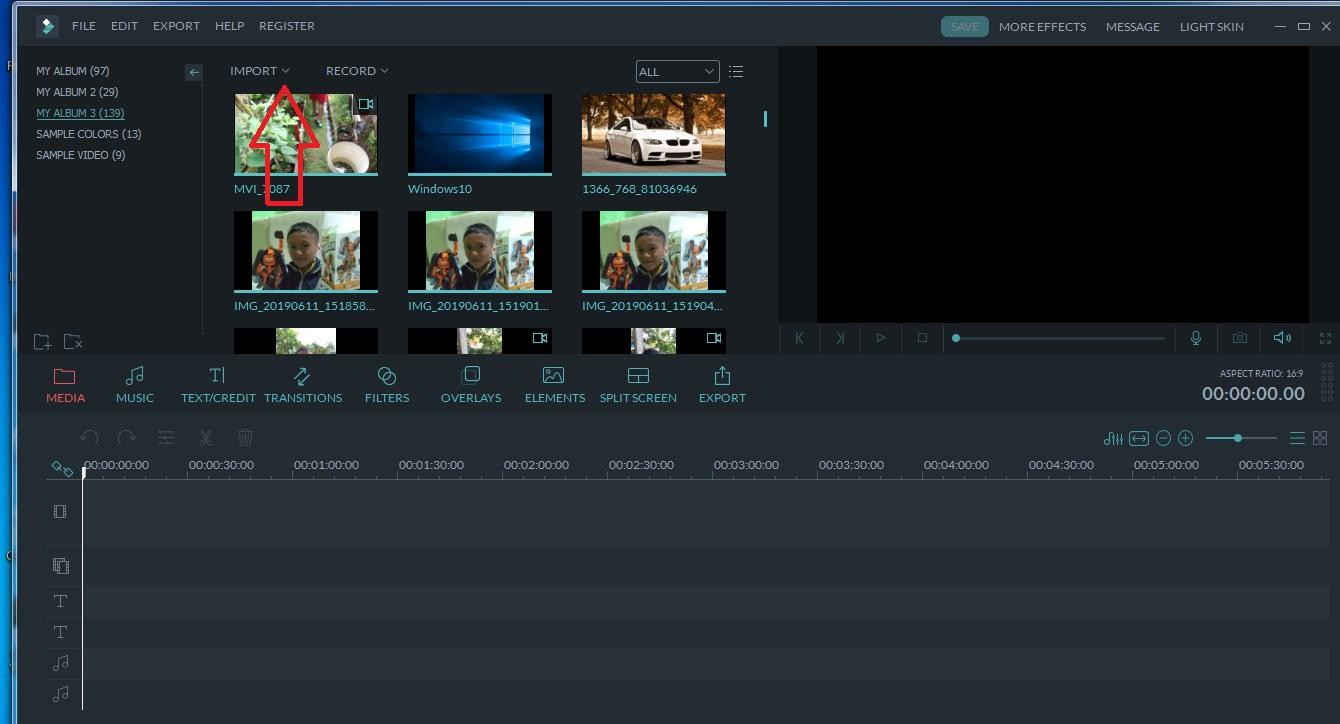 tutorial aplikasi edit video
