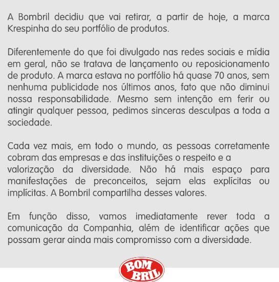Comunicado Bombril
