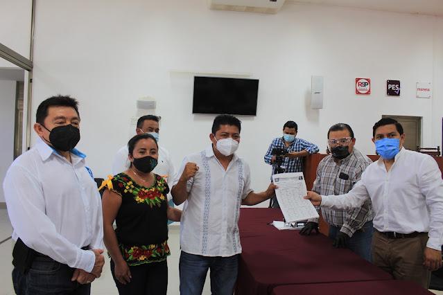 Registra Nueva Alianza Yucatán primer bloque de candidatos