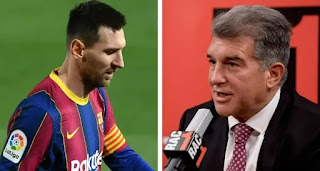 Presidential candidate Joan Laporta: 'I've indications Leo Messi wants to stay at Barca'