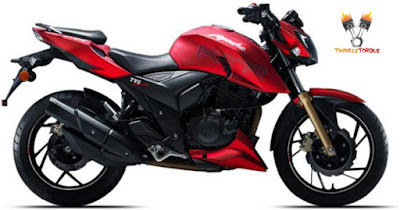 TVS Apache RTR200 4V side view