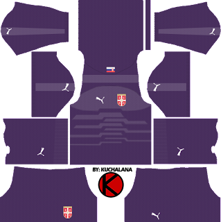 Serbia 2018 World Cup Kit - Dream League Soccer Kits