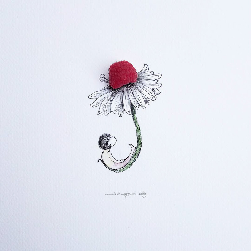 Lovely Miniature Art work by Jesus Ortiz.