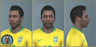 PES 2019 Faces Pele By Stels