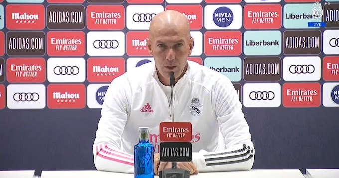 Zidane revealed he never said Zinedine Zidane and Jovic can't play together