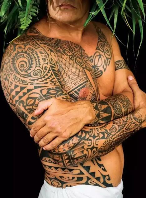 31+best Polynesian Tattoo Designs