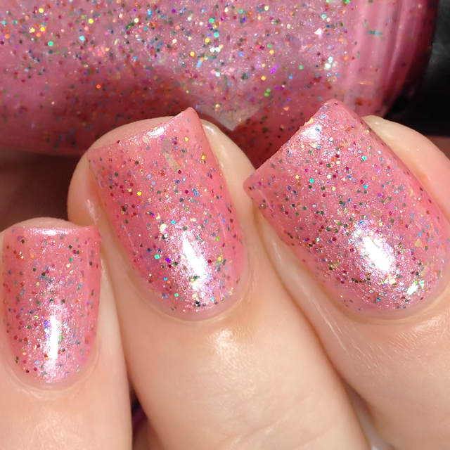 Poetry Cowgirl Nail Polish-There's Always A Rainbow
