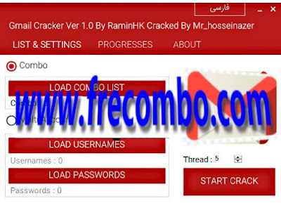 Gmail Accounts Cracker V1.0 Paid Tool Cracked by Mr_HOssienazer