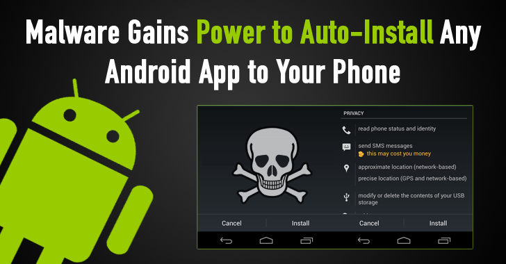 This Malware Can Secretly Auto-Install any Android App to Your Phone