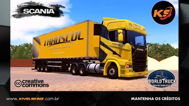 SCANIA S730 - TRANSCOL TRANSPORTES - AMARELO
