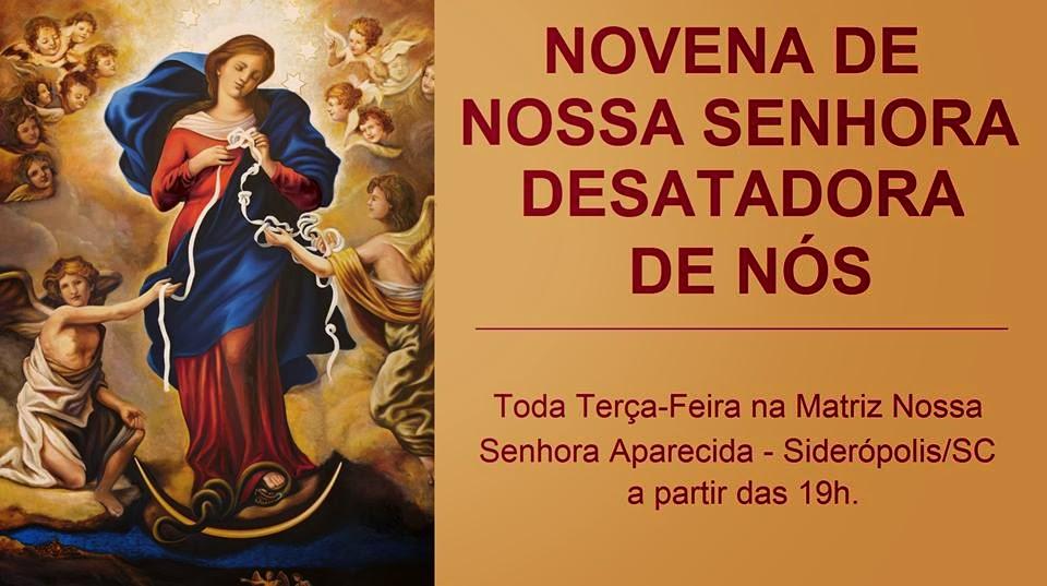 Novena De Nossa Senhora Aparecida: Paróquia Nossa Senhora Aparecida: Novena Nossa Senhora