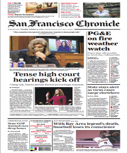 sanfrancisco, san francisco chronicle magazine 13 October 2020, san francisco chronicle magazine, san francisco news, free pdf magazine download.