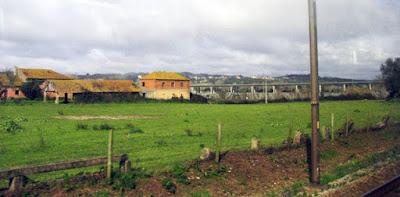 paisagem e casas de campo