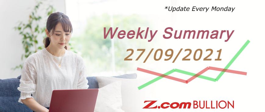 Weekly Summary (27/09/2021)