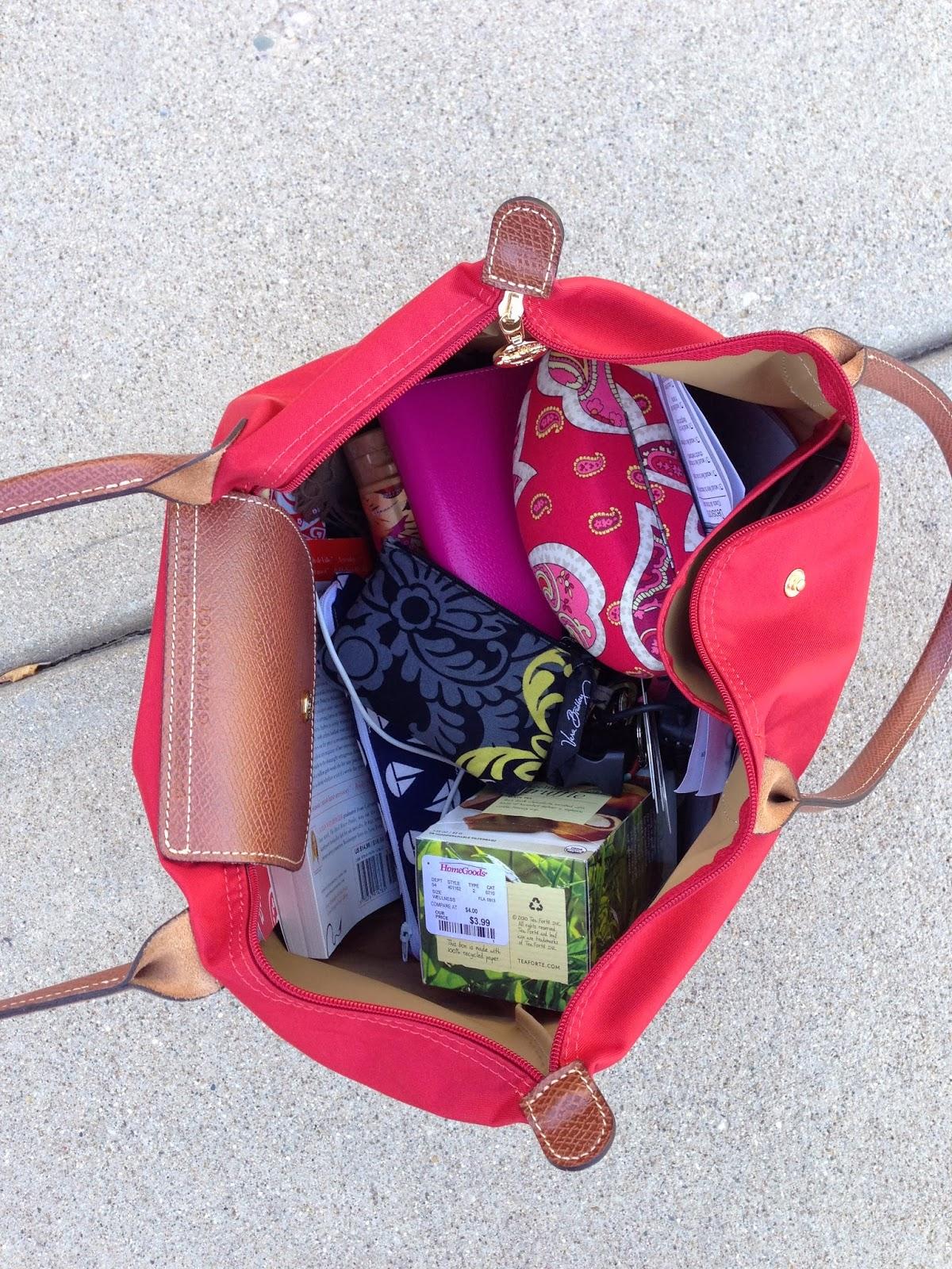 e8e169c6988b PurduePrep  What s In My  Longchamp  Bag