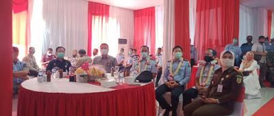 Kalapas Kelas Dua Pasir Tanjung Cikarang Serah Terima Jabatan