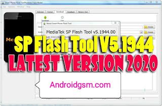 How To Download SP Flash Tool v 5.1944 Latest Version [2020] MTK USB Flashing Tool is free on AndroidGSM for Free password