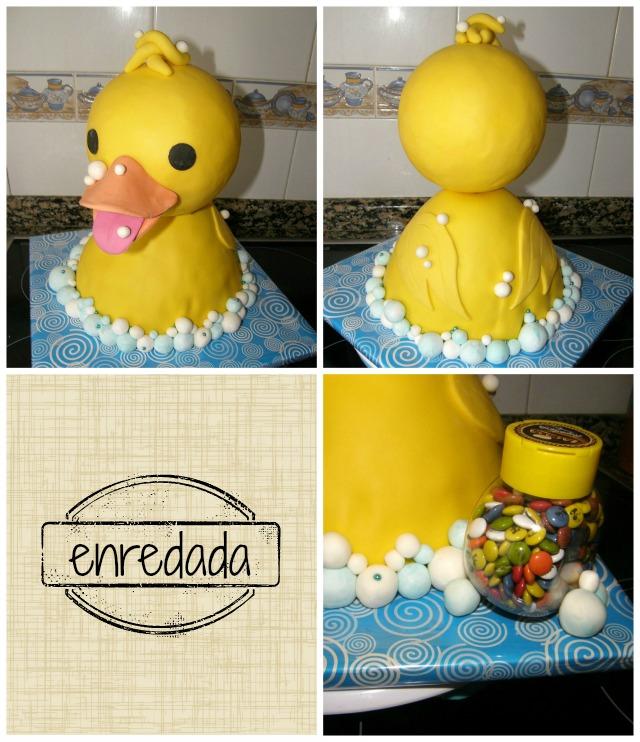 enredadaen.blogspot.com.es/tarta patito
