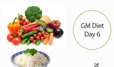 thực đơn giảm cân General Motor Diet nhờ cơm và rau