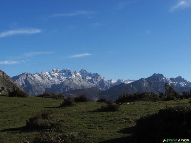 La Boquera, vista a los Picos de Europa