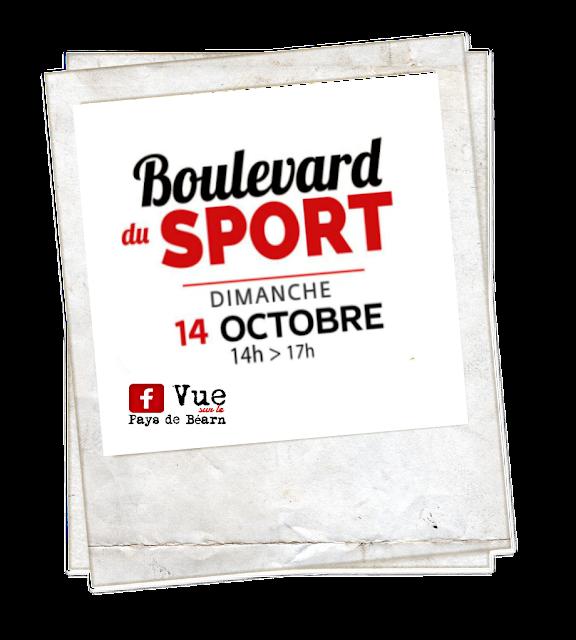 Le boulevard du Sport Pau octobre 2018