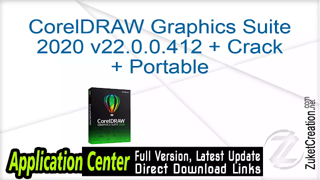 CorelDRAW Graphics Suite 2020 v22.0.0.412 + Crack + Portable