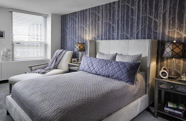 Papel tapiz para dormitorios for Papel para decorar paredes modernos