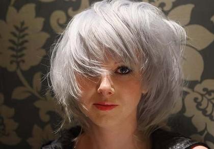 hayanstreet beauty grey hair