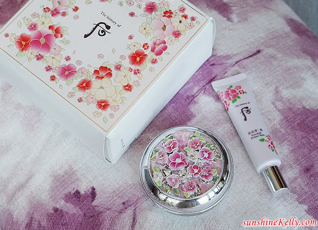 Review, The history of WHOO, Radiant White Moisture Cushion Special Edition Set, Gongjinhyang:Seol, Radiant White Moisture Cushion Foundation, Korean Cosmetics, Beauty Review, Beauty