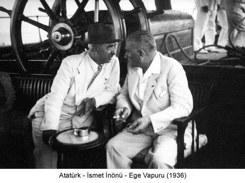 Atatürk İnönü Ege Vapuru 1936 Fotoğraf