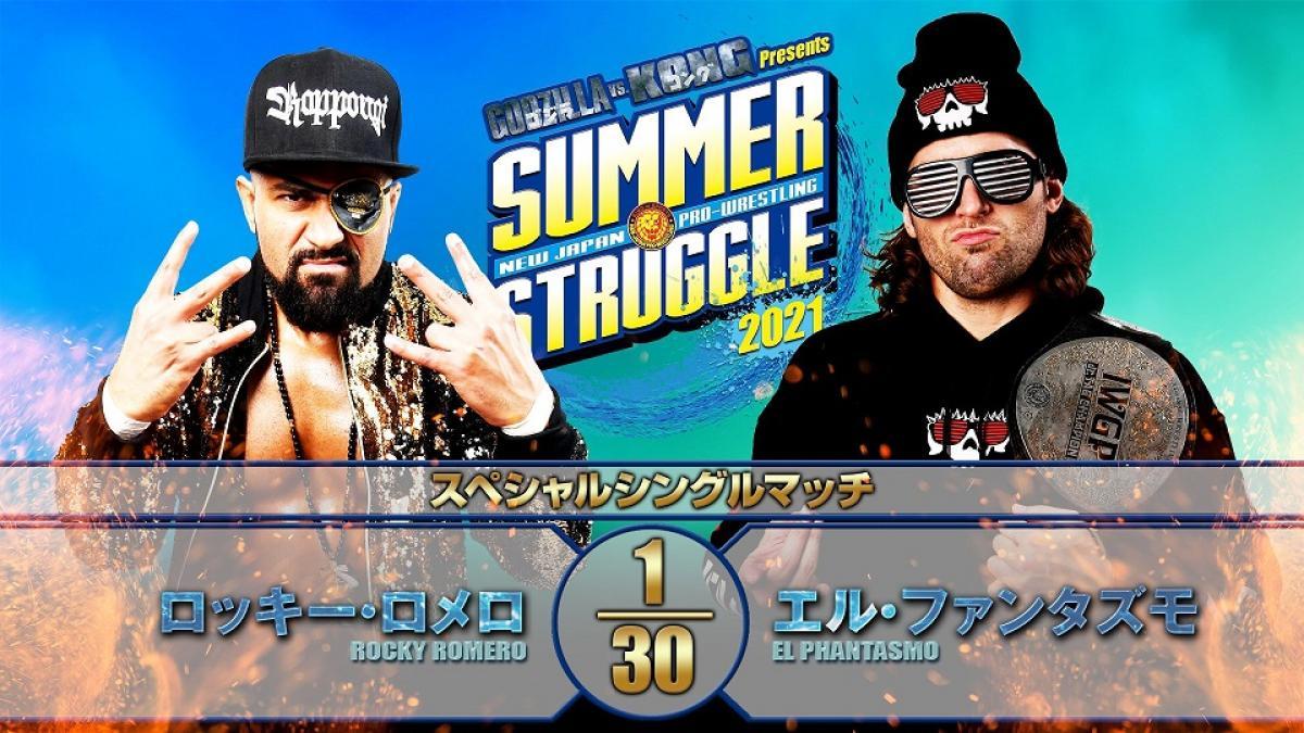 Cobertura: NJPW Summer Struggle 2021 – Day 3 – Víbora!