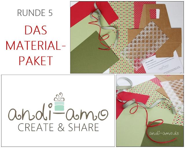 andi-amo Create&Share 5 Stampin Up Materialpaket