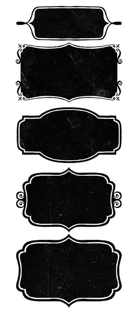 Etiquetas Estilo Pizarra para Bodas para Imprimir Gratis.