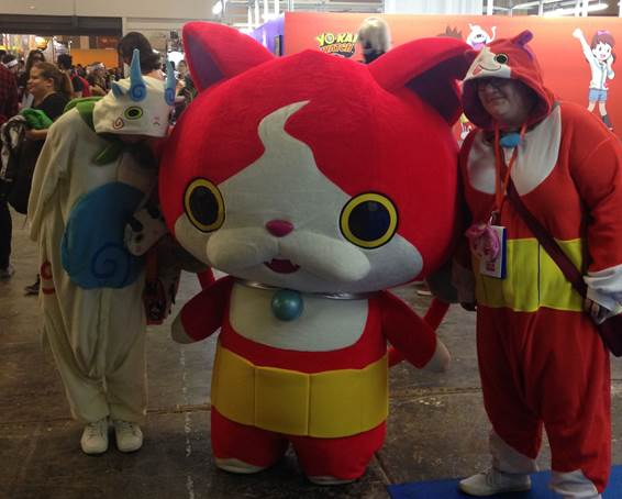 Yo-kai Watch, presente en Japan Weekend Madrid este fin de semana