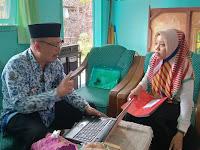 Supervisi Perangkat Pembelajaran Semester II oleh Bpk. Usman Zaini, M.Pd.I di MI. Tashilul Mubtadiin