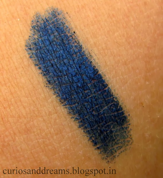 Faces Longwear Eye Pencil Navy Blue Review