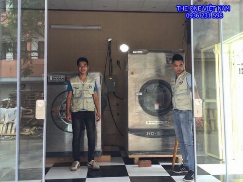 Máy giặt sấy công nghiệp cho trung tâm điều dưỡng