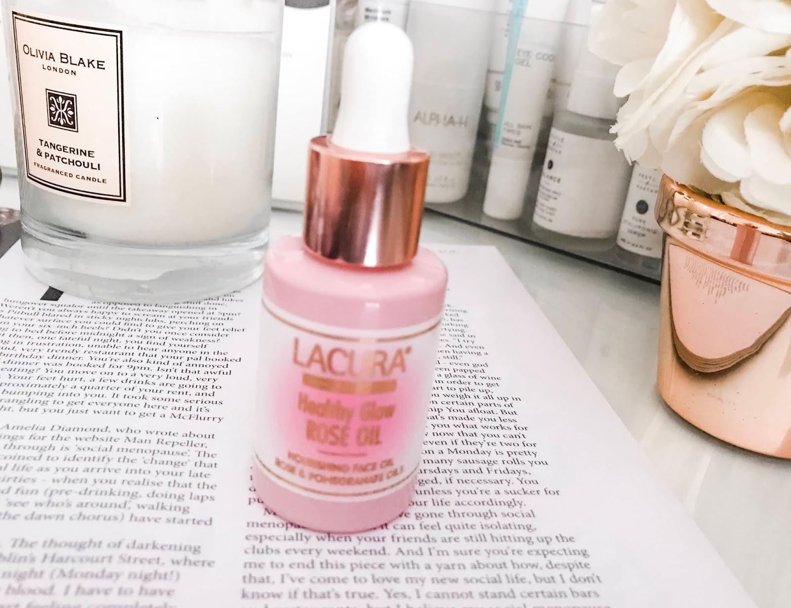Aldi Lacura Rose Facial Oil Review
