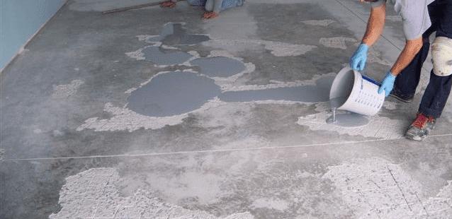 Garaj zemini epoksi tamiri