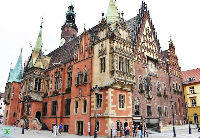 Ayuntamiento de Wroclaw en Polonia