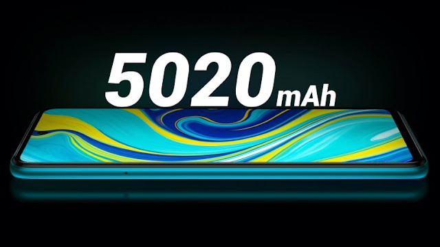 Redmi Note 9 Pro Max 5020 mAh battery