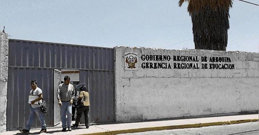 GRE Arequipa desembolsó 12 mil soles a docente que laboró dos horas diarias durante mes y medio