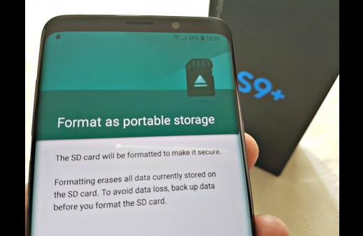 Cara Memperbaiki Masalah Kartu SD Samsung Galaxy S9,Ini Caranya 3