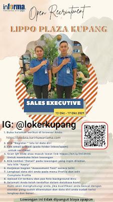 Lowongan Kerja Informa Lippo Plaza Kupang Sebagai Sales Executive