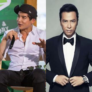 Ludi Lin and Donnie yen