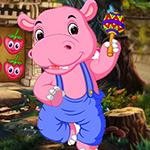 G4K Musician Hippo Escape