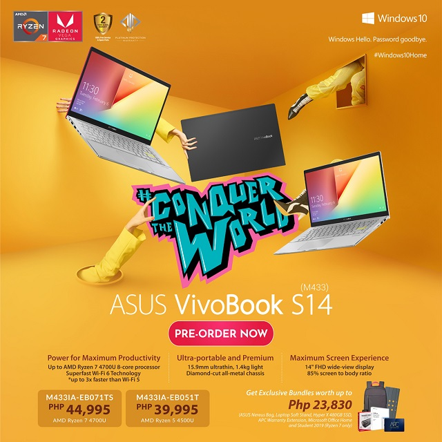VivoBook S14 (M433) is now available for pre-orders!